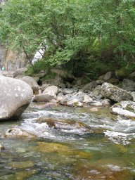 У водопада Корбу