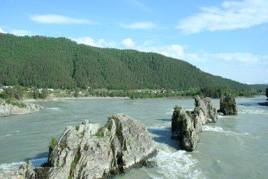 """""""Зубы дракона"""", река Катунь"""