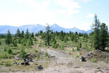 Пейзаж у озера Узункель